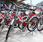 Bikesharing: Einige Leihräder machen Winterpause