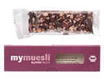Mogelpackung: Superfruit-Müsliriegel von Mymuesli