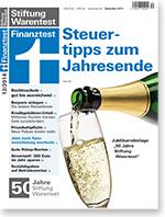 finanztest 12 2014 heft stiftung warentest